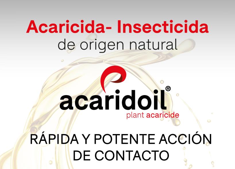 ACARIDOIL®, acaricida-insecticida ecológico y único registrado para el control de Tuta absoluta