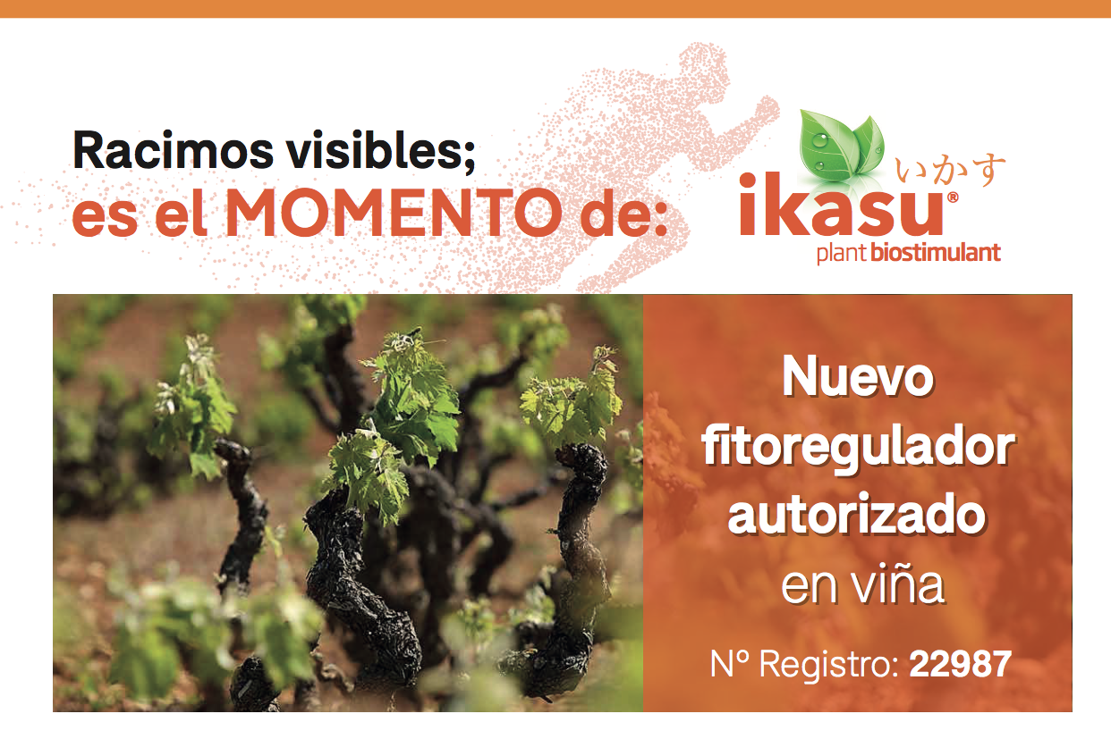 IKASU, el nuevo fitorregulador de acción biostimulante que quiere la viña