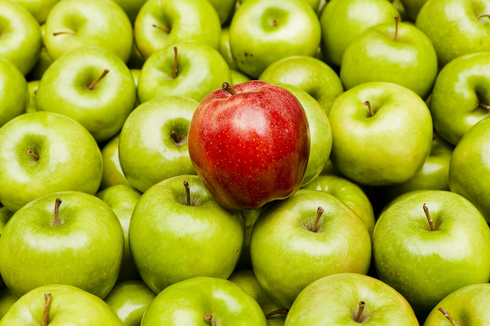 La estrategia LIDA para mejorar la coloración en manzana